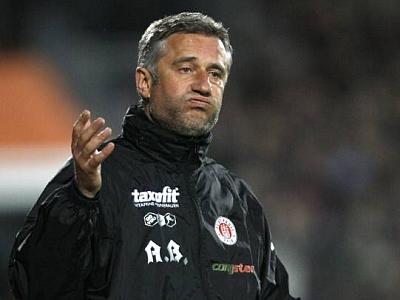 Nicht länger Trainer beim Kiez-Klub: Andreas Bergmann.
