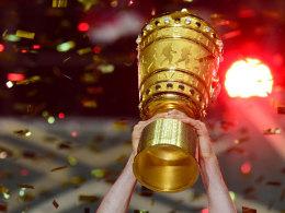 Das Objekt der Begierde: der DFB-Pokal.