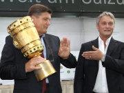 Hans Meyer und Armin Veh