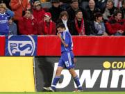 Zlatan Bajramovic nach seinem Platzverweis