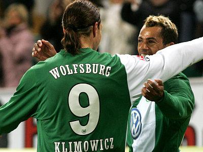 Offensive mit Biss: Klimowicz und Marcelinho