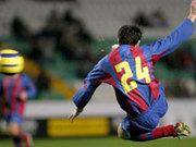 Technisch versiertes Jungtalent: Andres Iniesta.