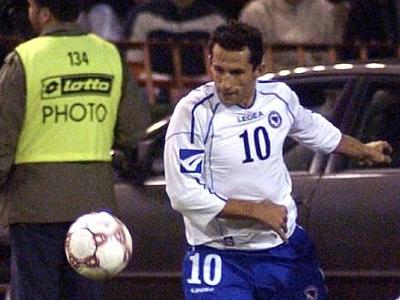 Wird nicht mehr das Nationaltrikot tragen: Bosniens Hasan Salihamidzic.