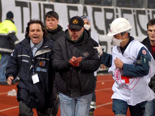 Eskalation der Gewalt in Catania