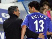 Mourinho und Ballack