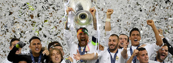 2016 bejubelte Real Madrid den elften Titelgewinn