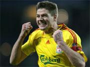 Gerrard jubelt