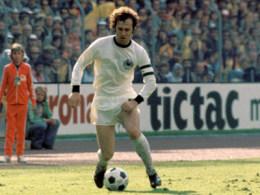 Kopf der Weltmeisterelf 1974: Franz Beckenbauer.