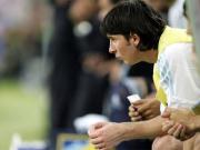 Wohl auch gegen Serbien und Montenegro auf der Bank: Lionel Messi