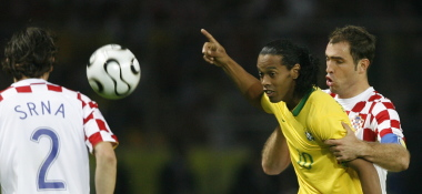 Ronaldinho im Griff
