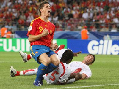 Der zweifache Torschütze Fernando Torres