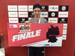 Daniel 'xRandom' Tissarek qualifiziert sich in Frankfurt für das kommende VBL-Finale.