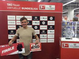 Marvin Hintz sicherte sich mit dem FC Bayern München die Qualifikation für das Finale der Virtuellen Bundesliga.