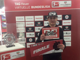Behruz Arab Dallal ist der Sieger des sechsten Qualifikation-Turniers für das Finale der Virtuellen Bundesliga.