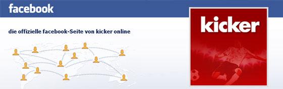 kicker auf facebook