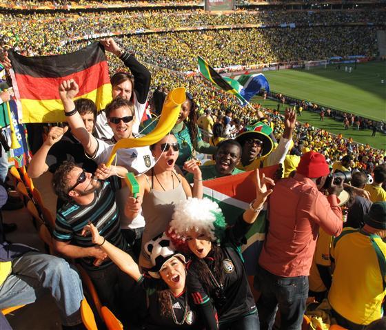 Eröffnungsspiel WM 2010 in Südafrika