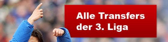 Alle Transfers der 3. Liga