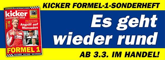 Formel 1-Sonderheft 2016
