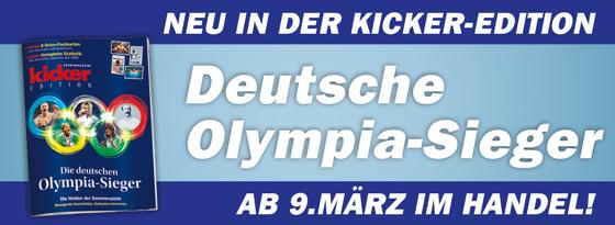 kicker Edition Die deutschen Olympiasieger