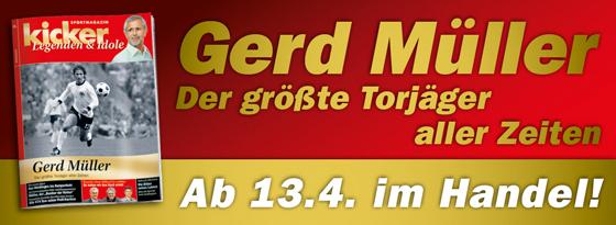 kicker-Sonderheft Legenden und Idole Gerd Müller