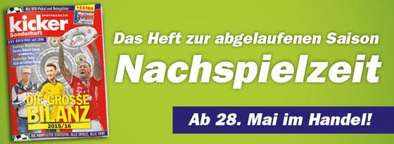 kicker Sonderheft Die große Bilanz - Finale 2015/16