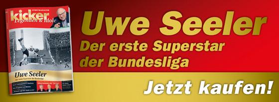 kicker-Sonderheft Legenden und Idole Uwe Seeler