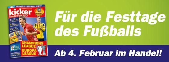 kicker Sonderheft Extra Champions League