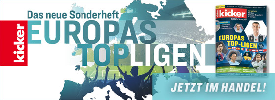 kicker-Sonderheft Europas Top-Ligen 2018/19