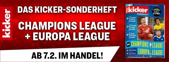 Sonderheft Champions League und Europa League 2018/19