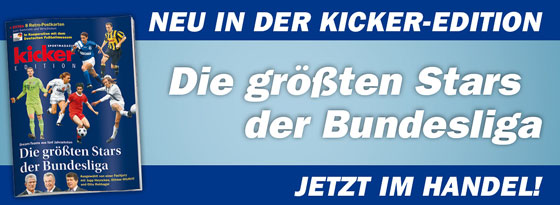 kicker Edition Die gr��ten Stars der Bundesliga