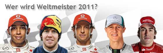 Wer wird Weltmeister 2011 - Sie entscheiden