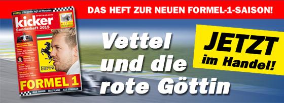 Formel-1-Sonderheft 2015