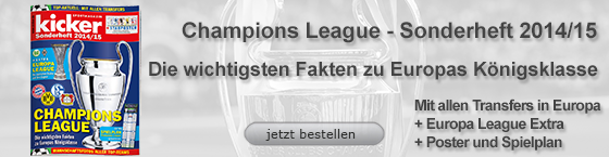 Sonderheft Champions League 2014/15