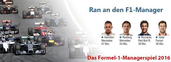 Formel 1 Managerspiel