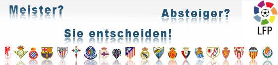 Tabellenrechner Primera Division