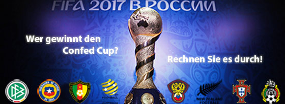 Turnierrechner Confed Cup