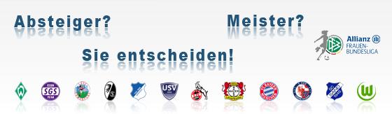 Tabellenrechner Frauen-Bundesliga