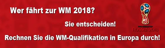 Tabellenrechner WM-Qualifikation Europa