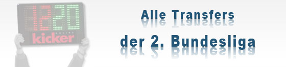 Wechselb�rse 2.Bundesliga