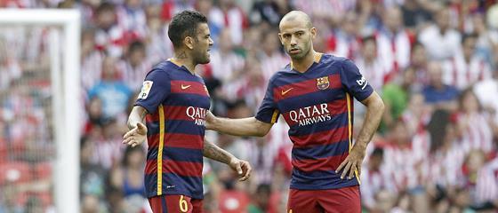 Verliert Barca seine halbe Viererkette an Juventus?