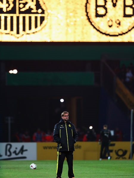 1. FC Saarbr�cken - Borussia Dortmund 0:2