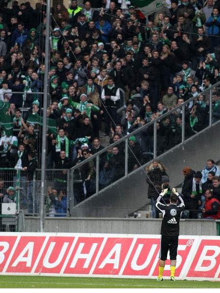 Bor. M�nchengladbach - VfL Wolfsburg 2:2