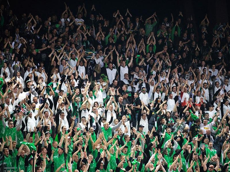 Schwarz-Weiß-Grün