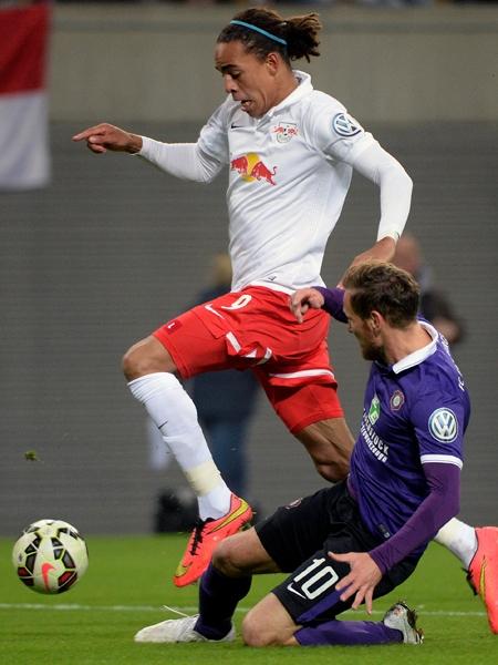 RB Leipzig - Erzgebirge Aue 3:1
