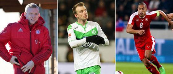 Schalke denkt �ber Rode, Arnold und Inler nach