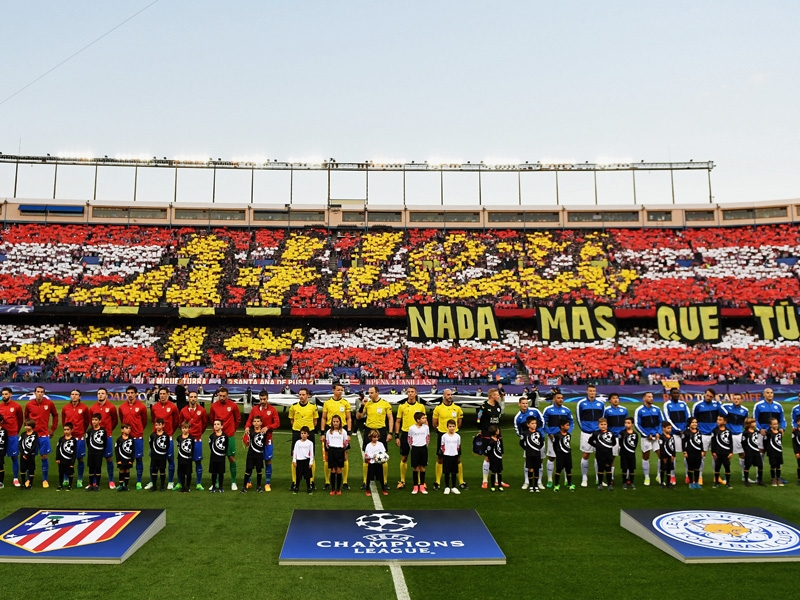 Champions-League-Atmosphäre