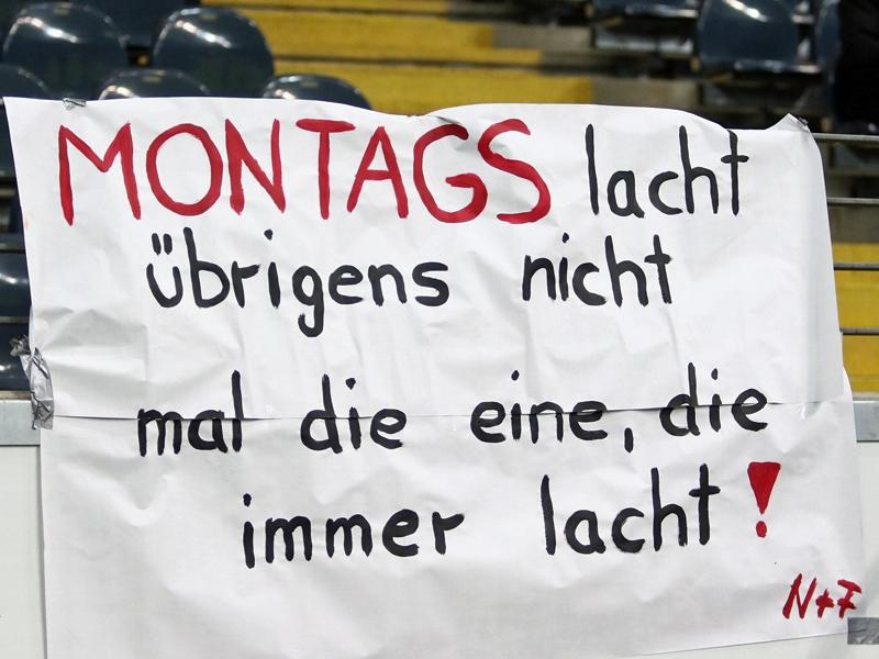 Viel Protest gegen die Montagsspiele