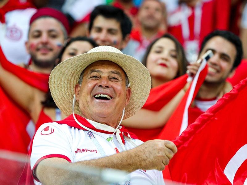 Tunesische Fans in Wolgograd