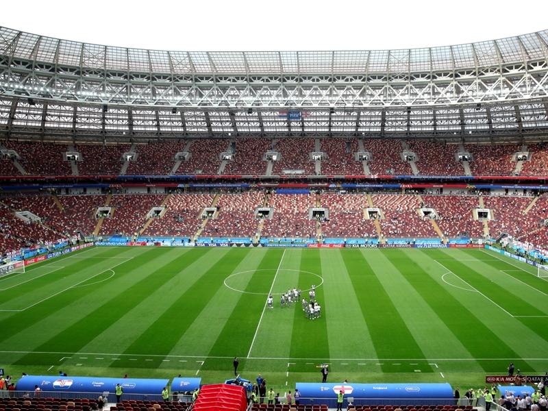 Halbfinalort Moskau
