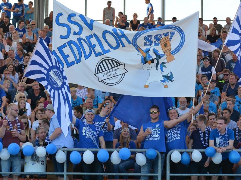 Im Stadion am Marschweg in Oldenburg